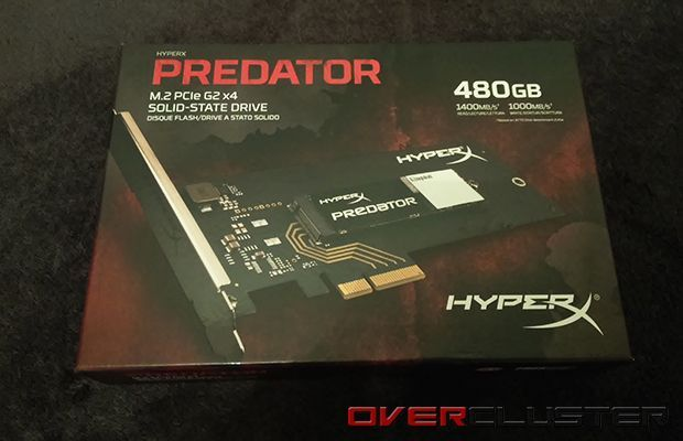 HyperX Predator SSD M.2 PCIe