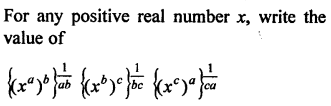 RD Sharma Class 9 Solutions Chapter 2 Exponents of Real Numbers VSAQS - 13