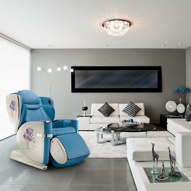 Living room- blue-3