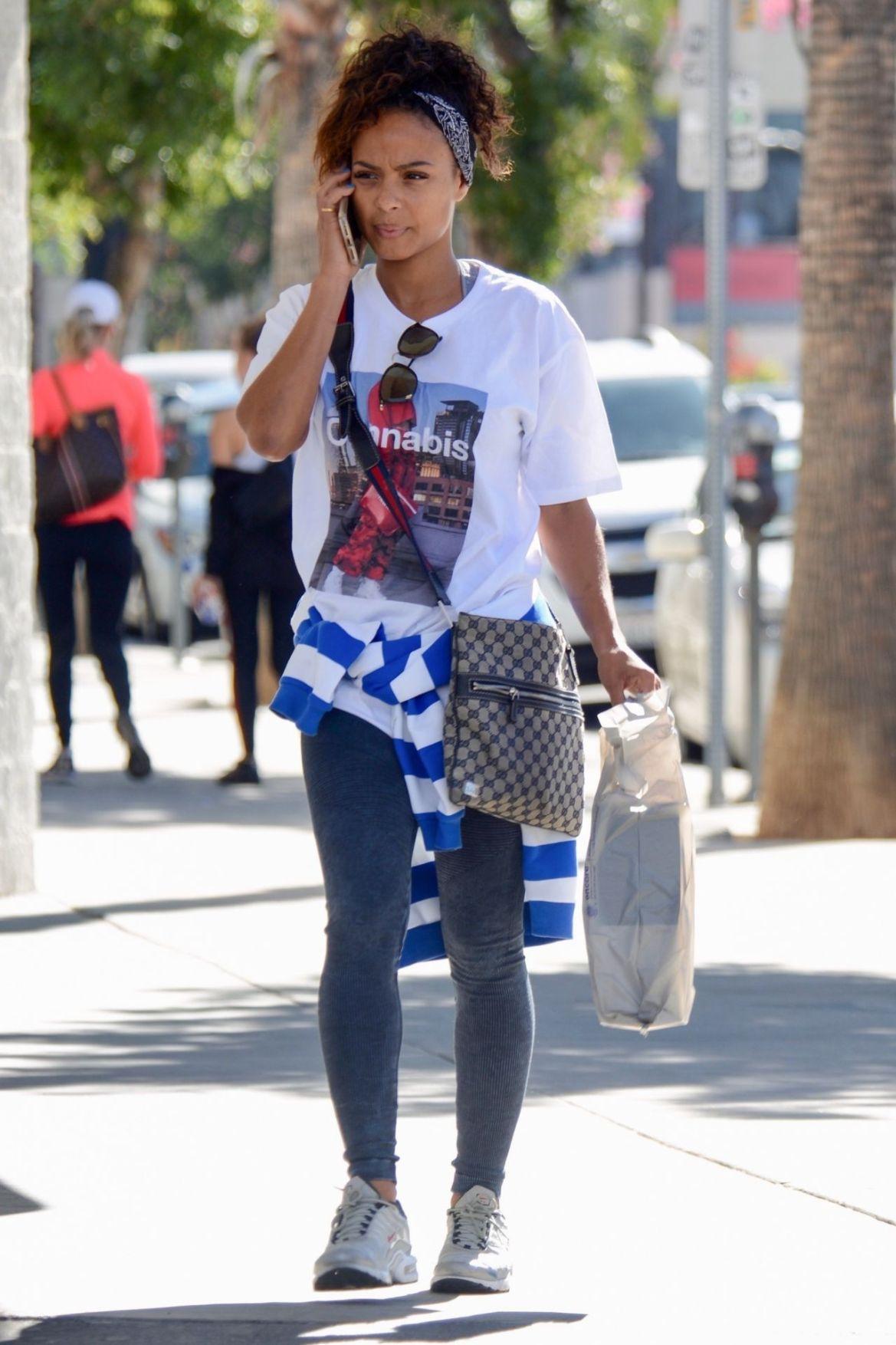 Christina Milian Street Style – Studio City 10/18/2018