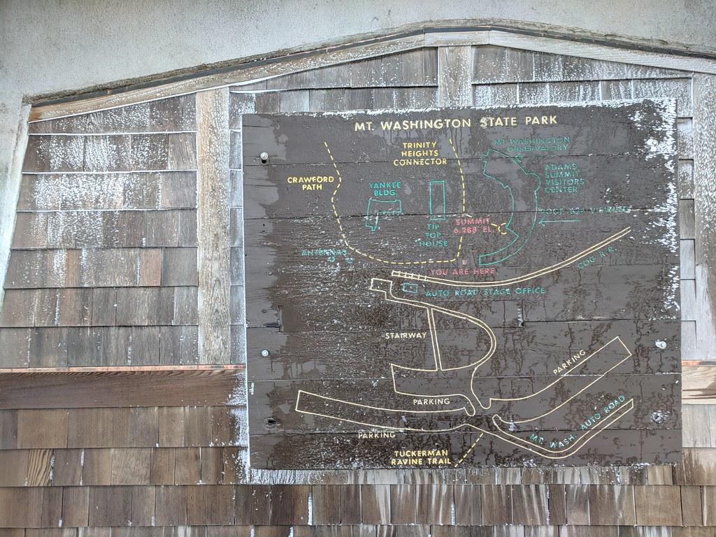Mount Washington map