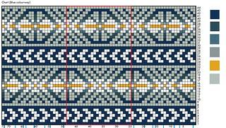 carraig fhada blue clourway two tone background