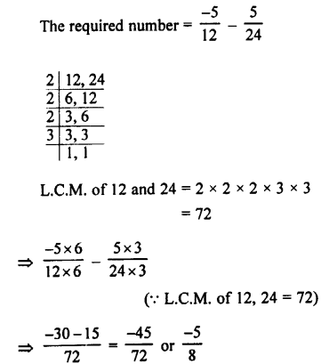 Selina Concise Mathematics class 7 ICSE Solutions - Rational Numbers-e6