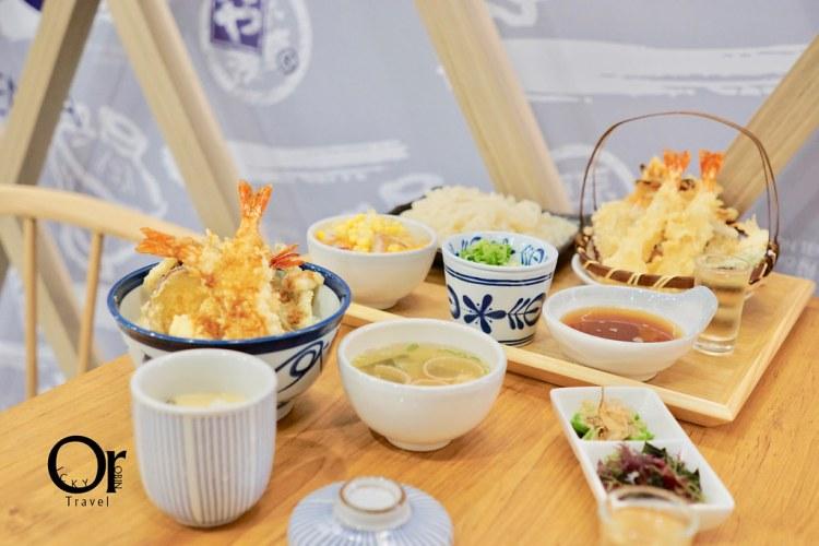 北車美食 不必搭飛機就能吃到日本國民級天丼,小資美食首選,天丼てんや TendonTenya 台灣首店