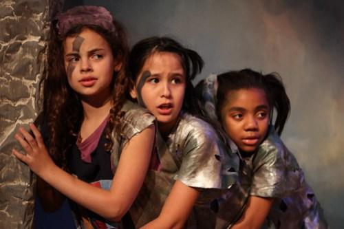 Samantha Pohly, Sofia Fusco, Amanda Jean in ODD DAY RAIN - TADA!