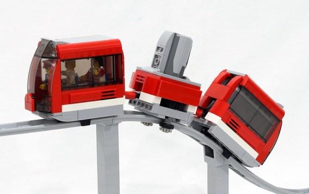 过山车的火车