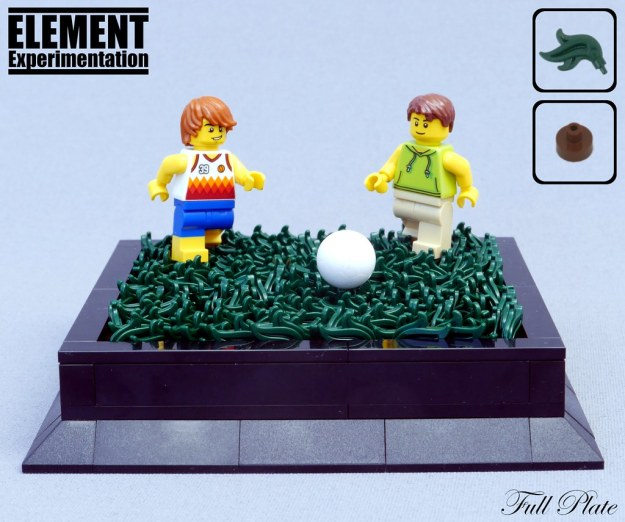 元素实验:草