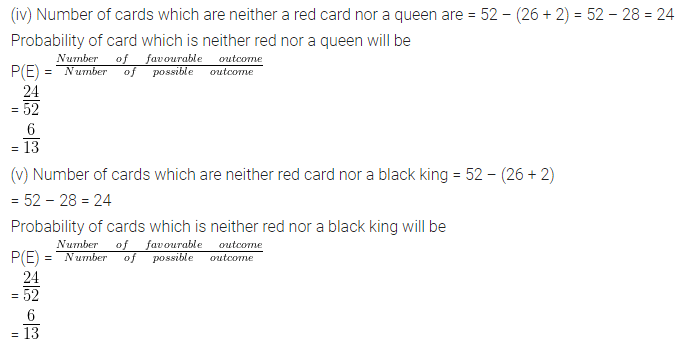 ML Aggarwal Class 10 Solutions for ICSE Maths Chapter 24 Probability Chapter Test 14A