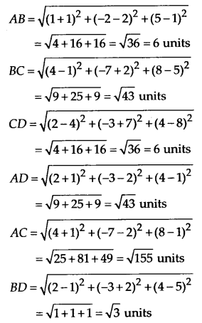 NCERT Solutions for Class 11 Maths Chapter 12 Introduction to Three Dimensional Geometry 4