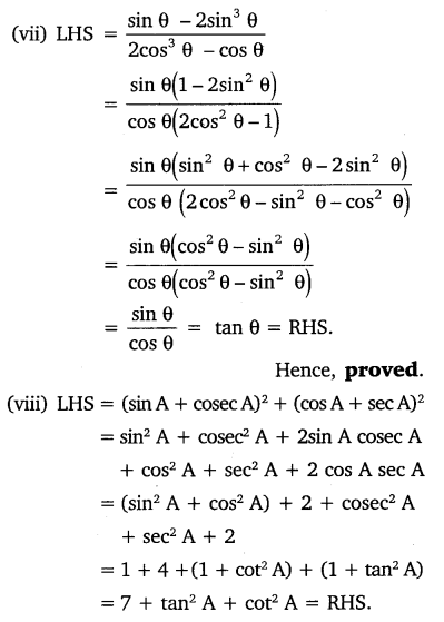 NCERT Solutions for Class 10 Maths Chapter 8 Introduction to Trigonometry 48