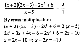 RD Sharma Class 8 Solutions Chapter 9 Linear Equations in One Variable Ex 9.3 - 21a