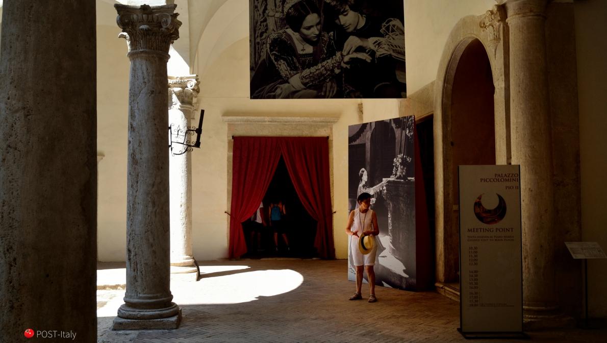 Palazzo Piccolomini em Pienza, Toscana