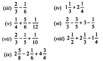 Selina Concise Maths class 7 ICSE Solutions - Fractions (Including Problems)-C1.