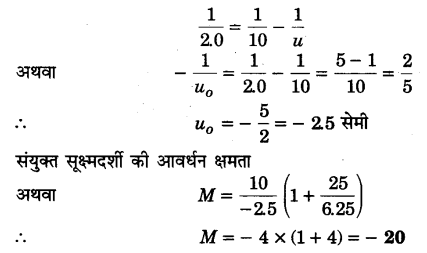 UP Board Solutions for Class 12 Physics Chapter 9 Ray Optics and Optical Instruments Q11.1