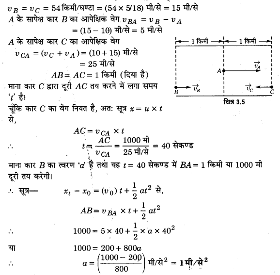 UP Board Solutions for Class 11 Physics Chapter 3 Motion in a Straight Line 8