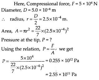 NCERT Solutions for Class 11 Physics Chapter 9 Mechanical properties of solid 17