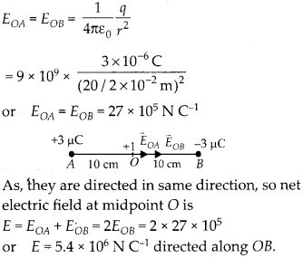 NCERT Solutions for Class 12 Physics Chapter 1 Electric Charges and Fields 6