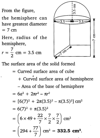 study rankers class 10 maths Chapter 13 Surface Areas and Volumes 4