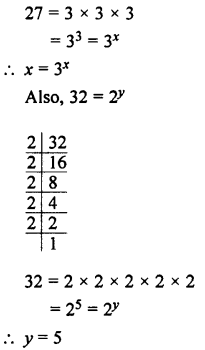 Selina Concise Maths class 7 ICSE Solutions - Exponents (Including Laws of Exponents)-9a.