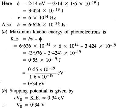 NCERT Solutions for Class 12 Physics Chapter 11 Dual Nature