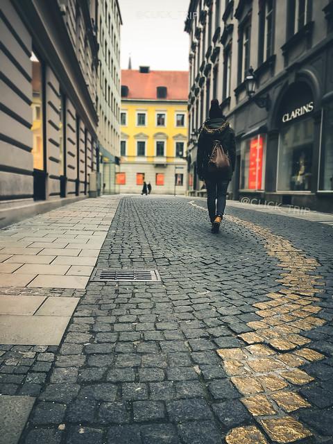 ¿Qué ver en Múnich? | Callejón del tramposo | Odeonsplatz | ClickTrip.ES