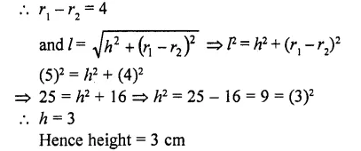 RD Sharma Class 10 Solutions Chapter 14 Surface Areas and Volumes  VSAQS 24