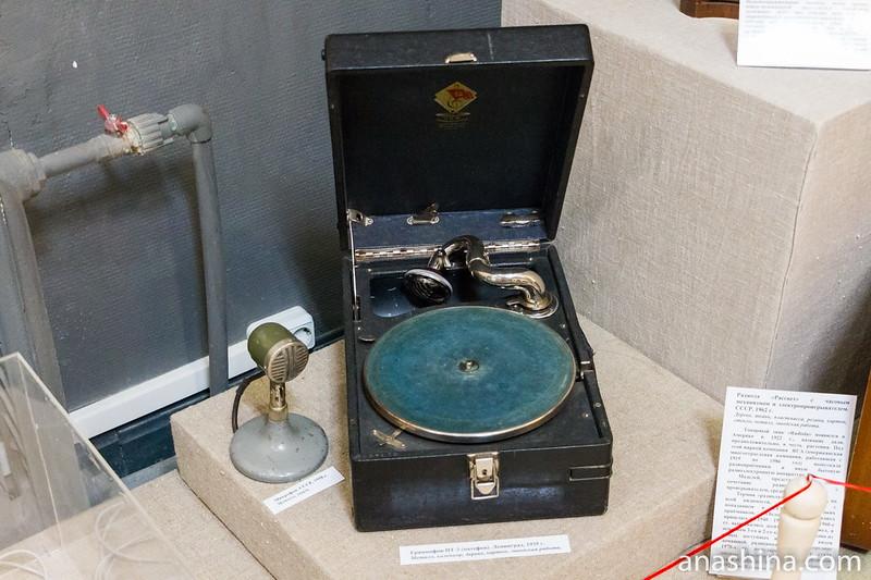 Микрофон и патефон, Региональный музей Северного Приладожья, Сортавала