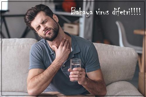 Gambar Penyakit Difteri Kronis