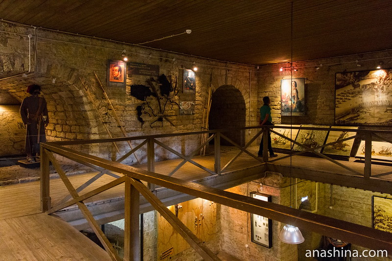 Музей в Староладожской крепости, Старая Ладога
