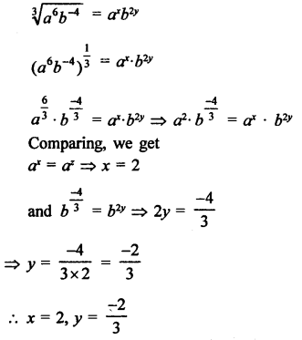 RD Sharma Class 9 Solutions Chapter 2 Exponents of Real Numbers Ex 2.2 - 17a