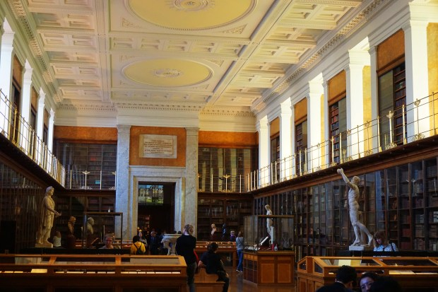 The British Museum library