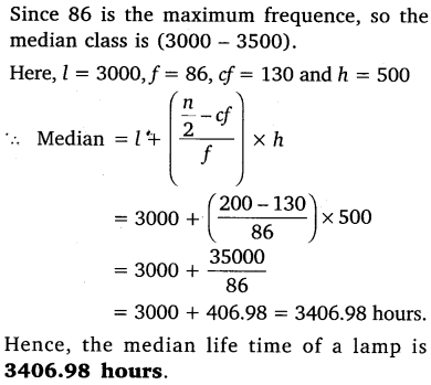 NCERT Solutions for Class 10 Maths Chapter 14 Statistics 50