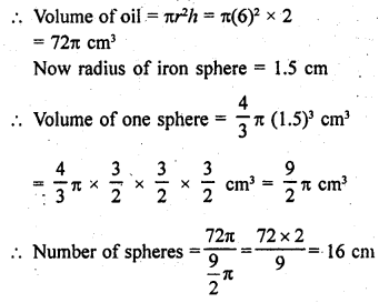 RD Sharma Class 9 Solutions Chapter 21 Surface Areas and Volume of a Sphere Ex 21.2 28