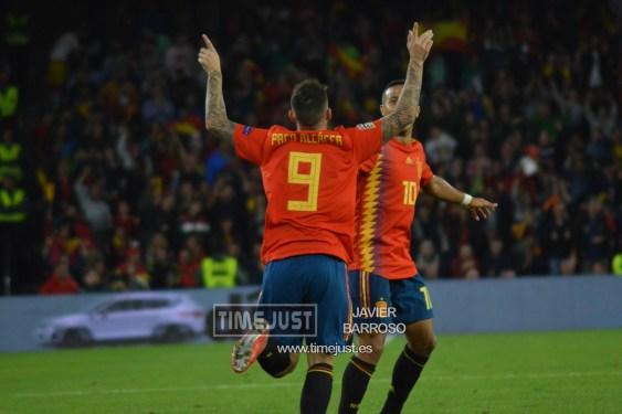 España 2-3 Inglaterra del 2018