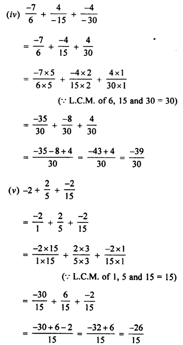 Selina Concise Mathematics class 7 ICSE Solutions - Rational Numbers-c3...