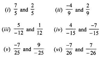 Selina Concise Mathematics class 7 ICSE Solutions - Rational Numbers-c1