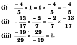 NCERT Solutions for Class 8 Maths Chapter 1 Rational Numbers 11