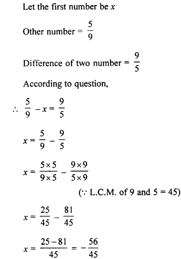 Selina Concise Mathematics class 7 ICSE Solutions - Rational Numbers-c15