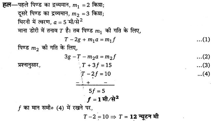UP Board Solutions for Class 11 Physics Chapter 5 Laws of motion 69