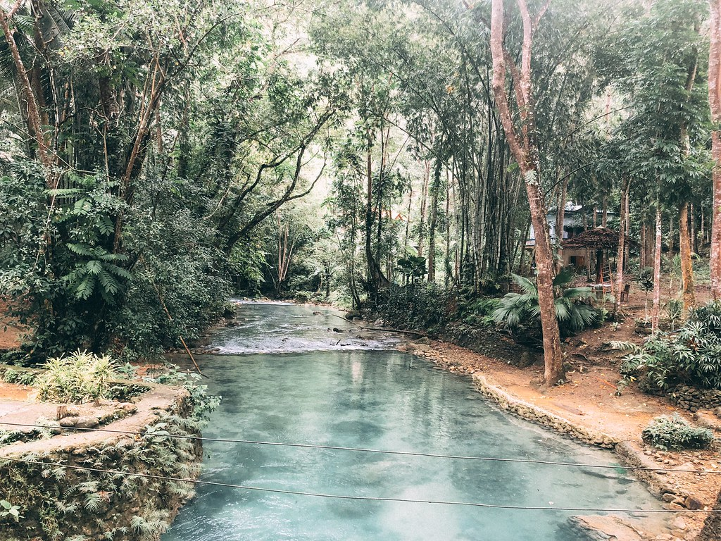 Near Kawasan Falls   Cebu Itinerary