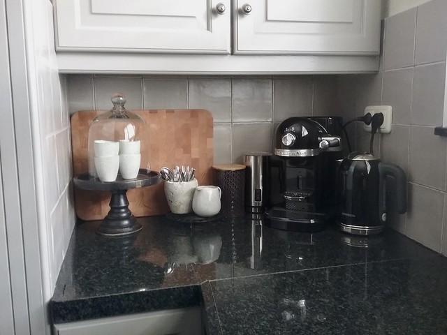 Koffiehoekje aanrecht