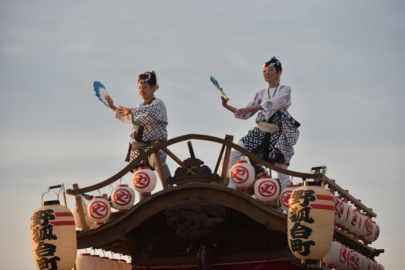 総踊り 佐倉の秋祭り 27