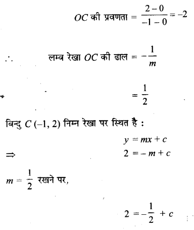 UP Board Solutions for Class 11 Maths Chapter 10 Straight Lines 10.3 15.1