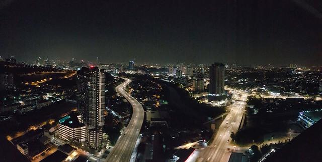KL night view
