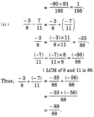 NCERT Solutions for Class 7 Maths Chapter 9 Rational Numbers 46