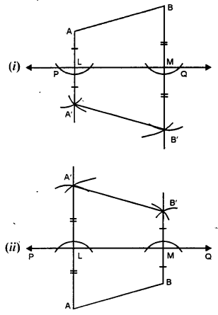 Selina Concise Mathematics class 7 ICSE Solutions - Symmetry (Including Reflection and Rotation) -b2i