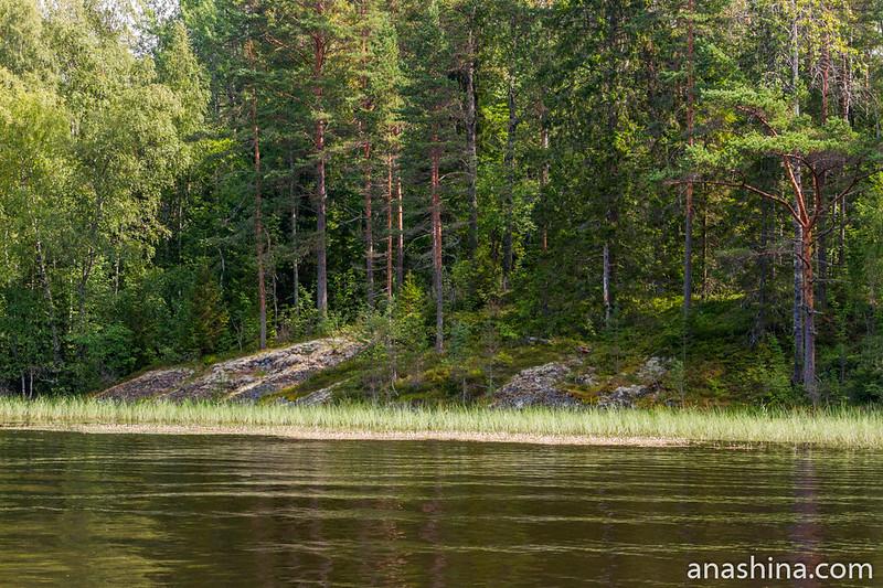 Скальный выступ, Ладожское озеро
