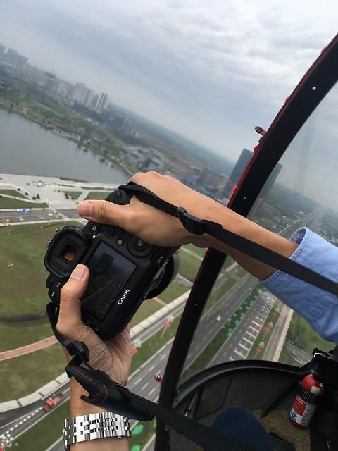 直昇機航拍成都
