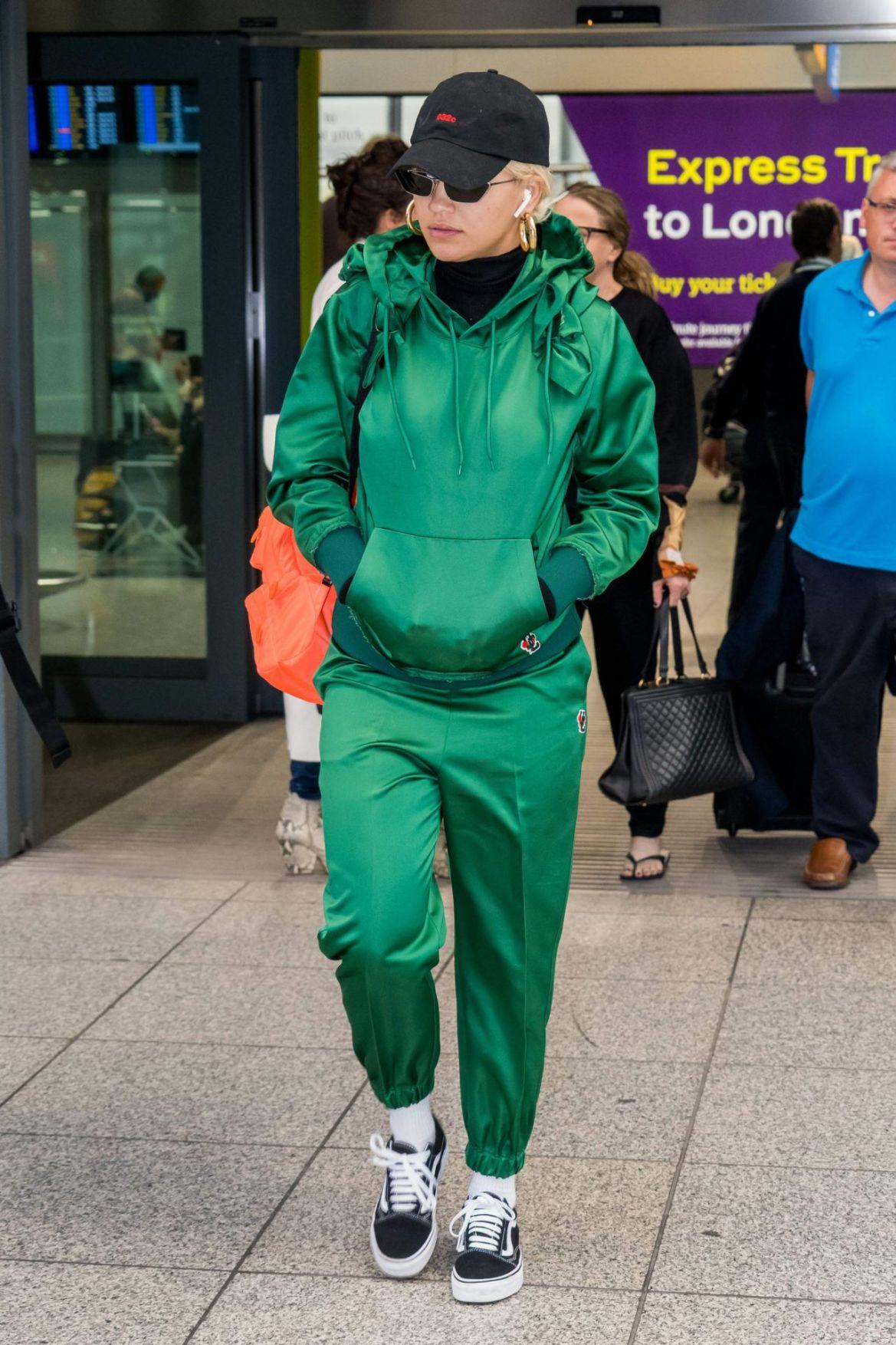 Rita Ora – Heathrow Airport in London 10/17/2018
