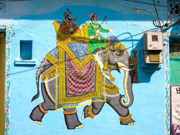 Murales en India